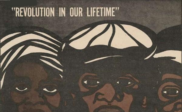 arte de Emory Douglas para os Black Panthers