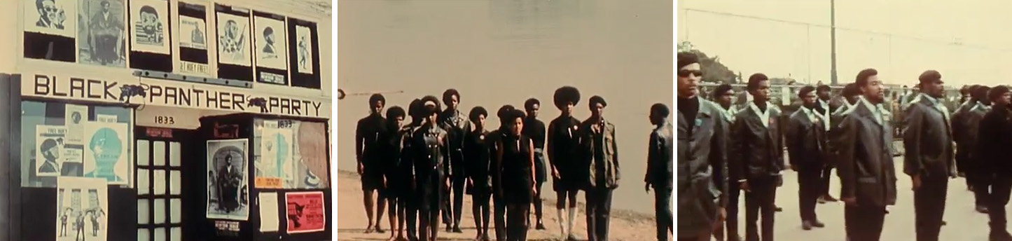 Black Panthers, Agnès Varda, 1968