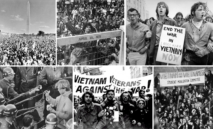 1969, Protesto em Washington anti-guerra do Vietname