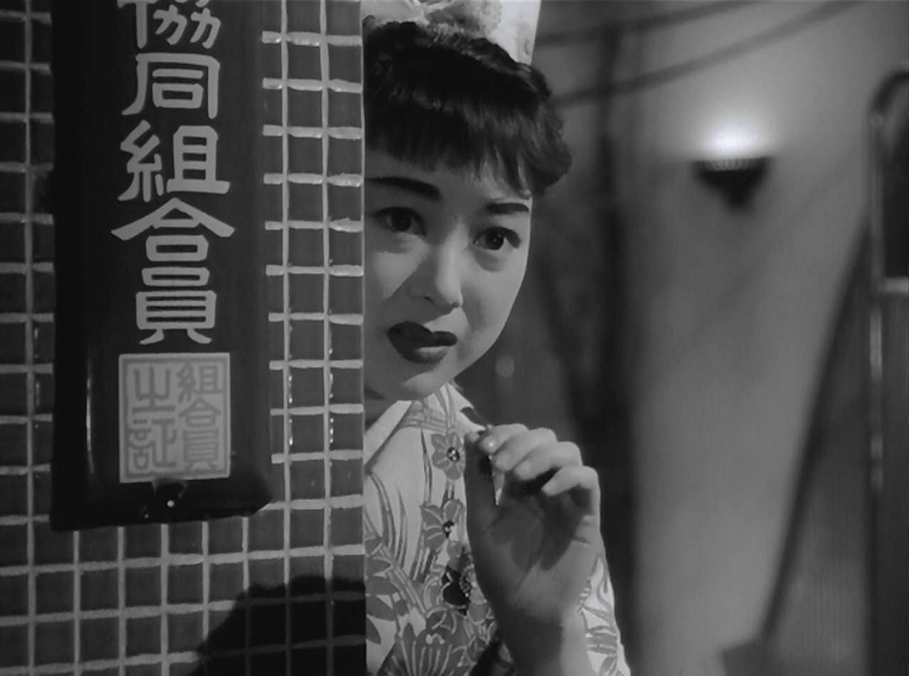 Akasen chitai (A Rua da Vergonha, 1956)