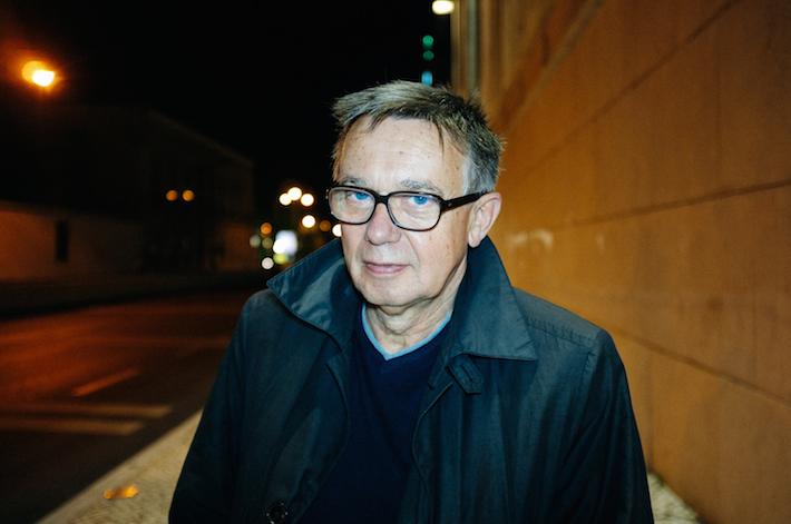 """Heinz Emigholz no IndieLisboa, realizador do filme """"The Airstrip"""""""