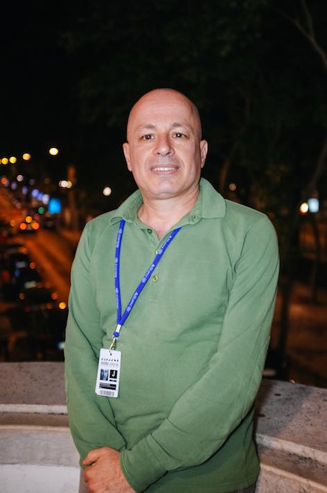 Júri internacional no festival, Ariel Schweitzer, historiador e crítico de cinema nos Cahiers Du Cinéma