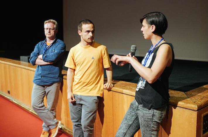 Q&A conduzida por Ricardo Lisboa com o realizador ___ e a realizadora ___ da curta vencedora do prémio ___
