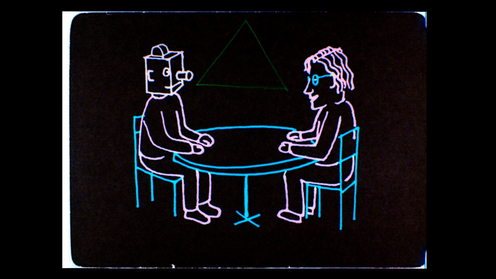 Is the Man Who Is Tall Happy?- An Animated Conversation with Noam Chomsky (2013) de Michel Gondry